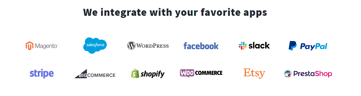 Getresponse favorite apps